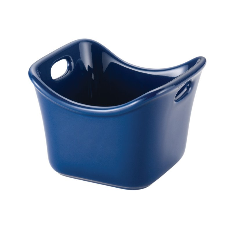 Rachael Ray Stoneware Ramekin in Blue 58589