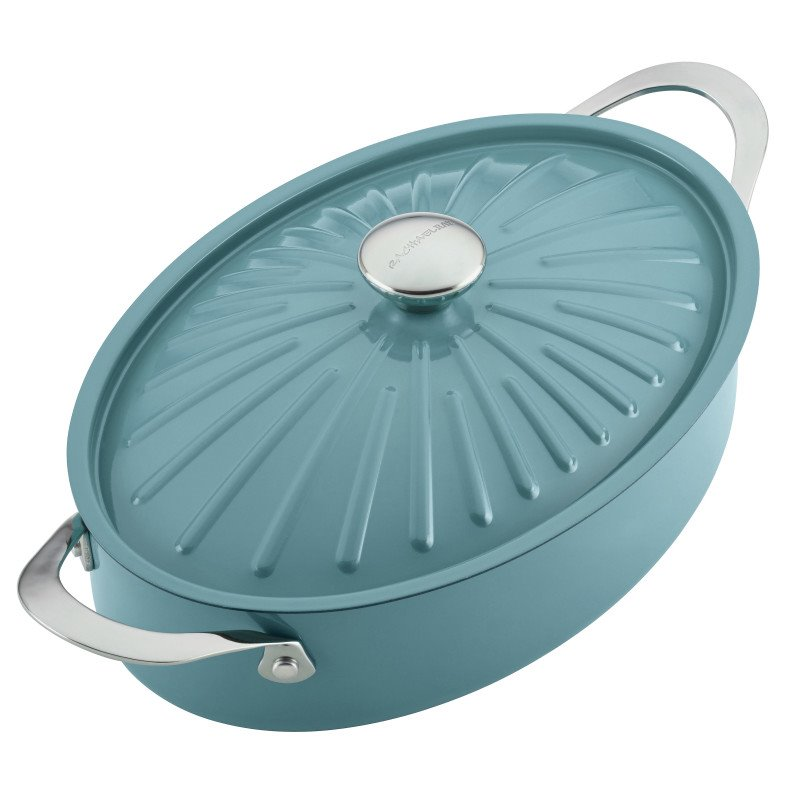 Rachael Ray Cucina 5 qt. Dutch Oven in Agave Blue 1426838