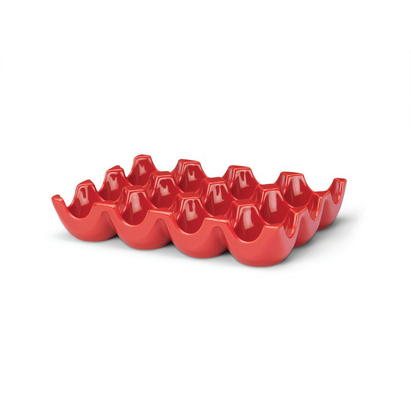 Rachael Ray Serveware Egg Tray in Red 53106
