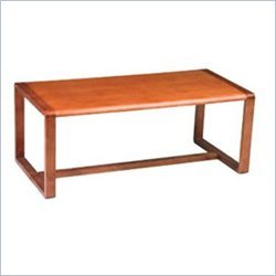 Office Star Oak Finish Rectangular Coffee Table Best Price