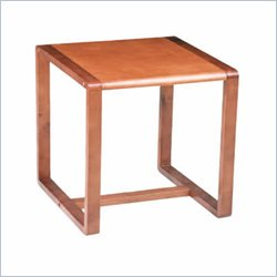 Office Star Oak Finish End Table Best Price