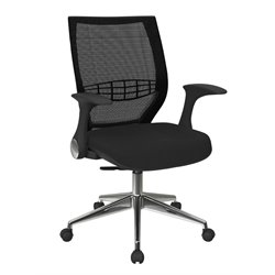 Office Star Pro-Line II ProGrid Back Managers Chair in Black