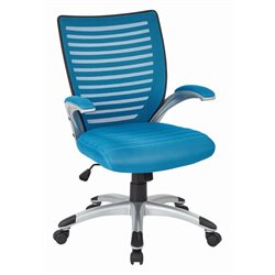 Office Star Work Smart Managers Chair in Blue