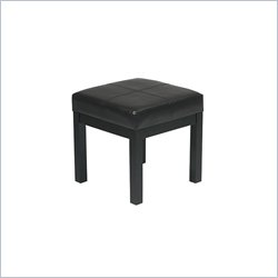 Office Star Metro Square Vinyl Seat Bench Best Price