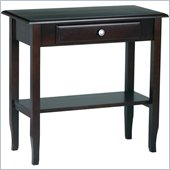 Office Star Merlot Foyer Table