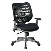 Office Star SPACE: REVV Raven Managers Chair with Space-Flex Back