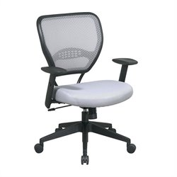 Office Star Shadow Air Grid Back and Shadow Mesh Seat Managers Office Chair