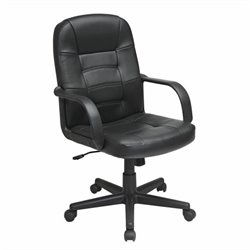 Office Star EC Series Eco Leather Managers Office Chair