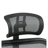 Office Star SPACE Breathable Mesh Headrest in Black (Fits 818 Only)