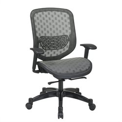 Office Star 829 Series Charcoal Office Chair