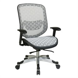 Office Star White DuraGrid Seat & Back Office Chair