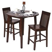 Office Star Westbrook Pub Table in Amaretto Finish