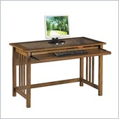 Office Star Mission Computer Desk in Oak