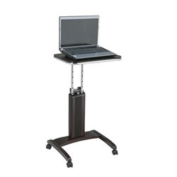 Office Star Precision Adjustable Laptop Stand in Espresso
