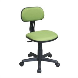 Office Star OSP Designs Seating Task Office Chair in Green