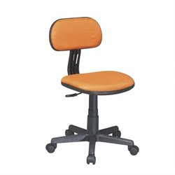Office Star OSP Designs Seating Task Office Chair in Orange