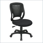 Office Star Screen Back Designer Contoured Plastic Shell Task Chair