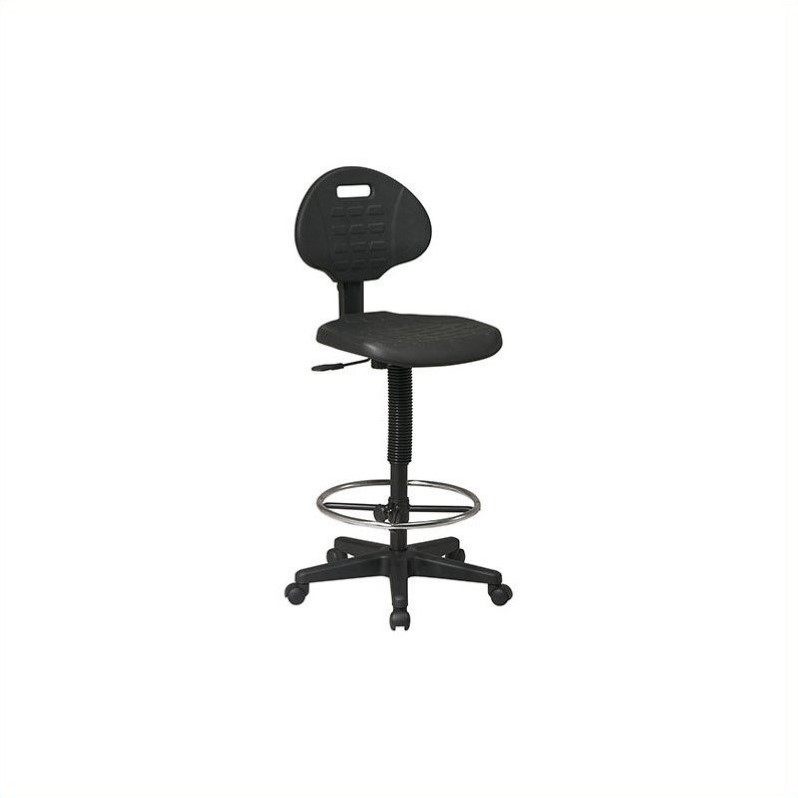Intermediate Drafting Chair with Adjustable Footrest