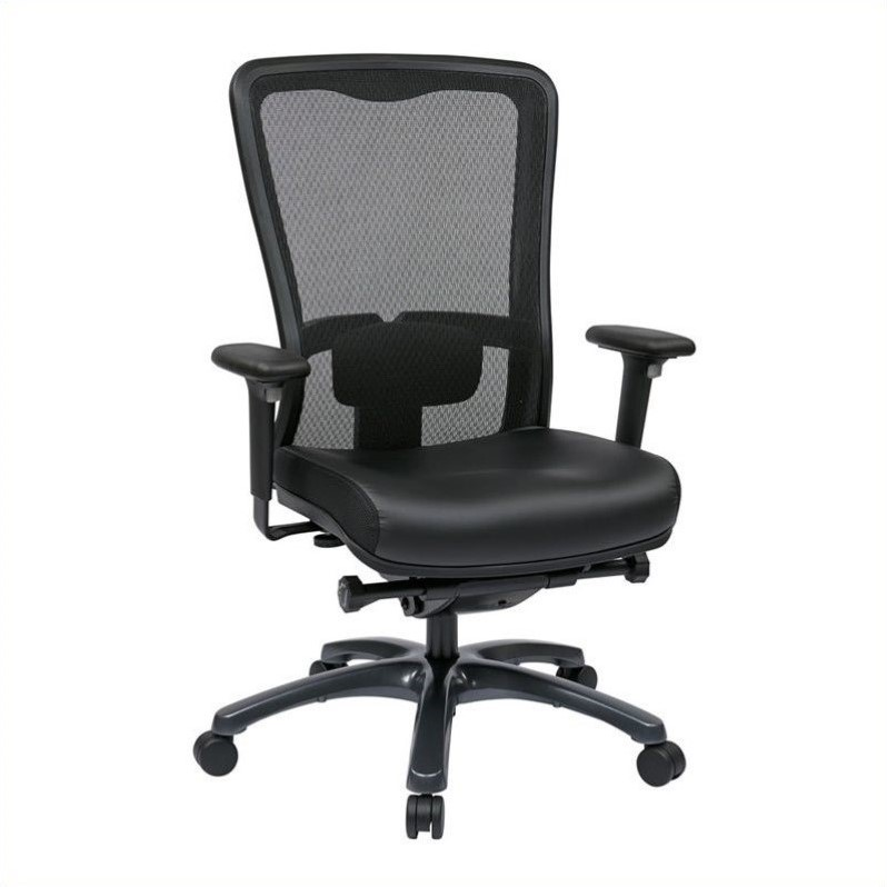 ProGrid High Back Office Chair in Black