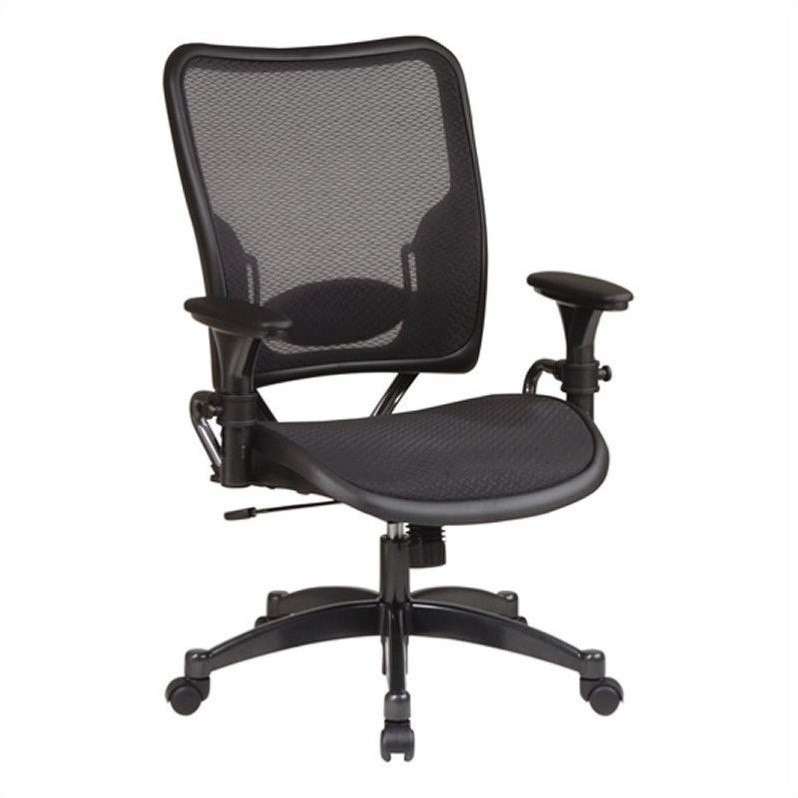 SPACE Deluxe Air Grid Back and Air Grid Managers Office Chair