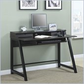 Office Star Arcadia Writing Desk in Dark Oldwood Finish