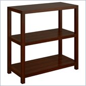 Office Star Hampton Bookcase (30 height) in Espresso