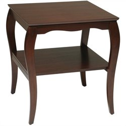 Office Star Brighton End Table in Cherry