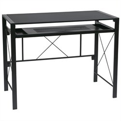 Office Star Creston Desk in Black