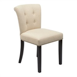 Office Star Kendal Dining Chair in Linen