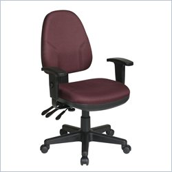 Office Star Dual Function Ergonomic Office Chair with Adjustable Arms
