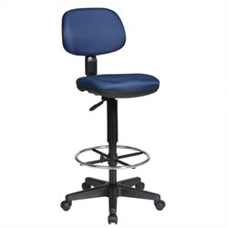 Office Star DC Sculptured Seat and Back Drafting Chair
