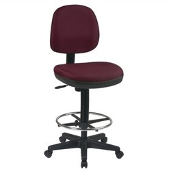 Office Star DC Series Contemporary Drafting Chair with Flex Back