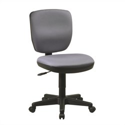 Office Star Contemporary Task Office Chair with Lumbar Support