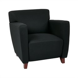 Office Star Club Chair in Black