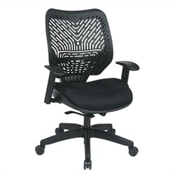 Office Star 86 REVV Series SpaceFlex Office Chair in Raven