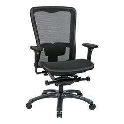 Office Star ProGrid High Back Office Chair in Black