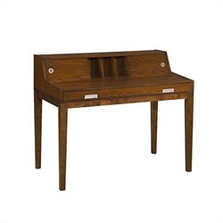 Office Star Carter Writing Desk in Espresso Oak