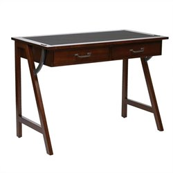 Office Star Dorset Writing Desk in Cider