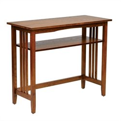 Office Star Sierra Foyer Table in Ash