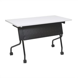 Office Star Training Table in Black and Grey