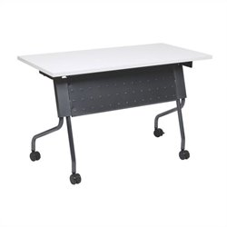 Office Star Training Table in Titanium and Grey