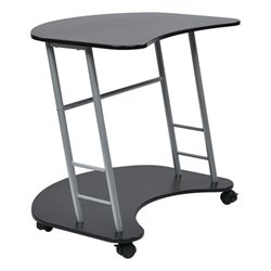 Office Star Kool Kolor Computer Desk in Black