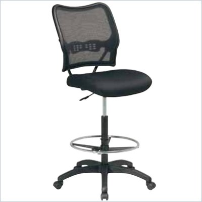 Office Star Air Grid Series Air Grid Back &amp; Mesh Seat Drafting Chair