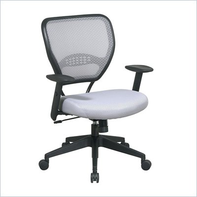 Office Star Shadow Air Grid Back and Shadow Mesh Seat Managers Chair
