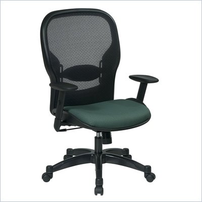 Office Star 23 Air Grid Back Fabric Seat Manager's Chair in Amazon