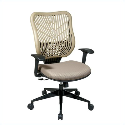 Office Star SPACE EPICC SpaceFlex Back Executive Chair in Latte