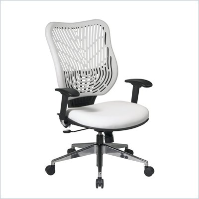 Office Star SPACE EPICC SpaceFlex Back Executive Chair in Ice