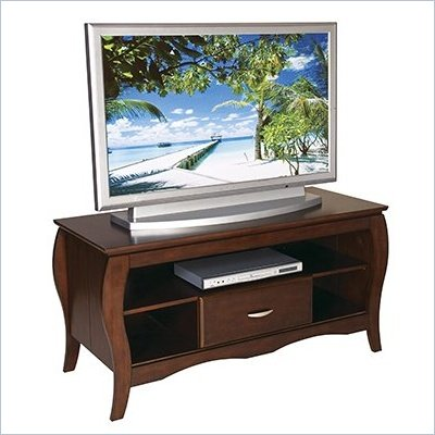 Office Star HEC Brighton 48&quot; TV Stand w/ Side Folding Construction 