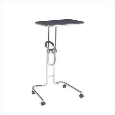 Office Star Lucent Laptop Stand in Purple Glass