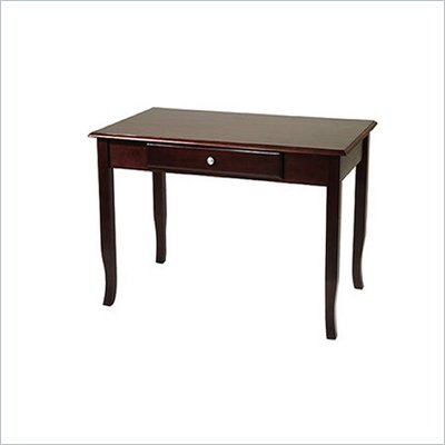 Office Star Wood Writing Desk in Merlot